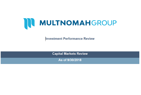 Q32018 Market Commentary